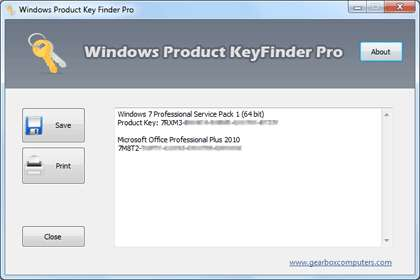 Key Finder Software