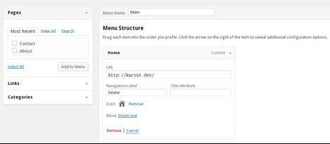 add icon in WordPress menu 31