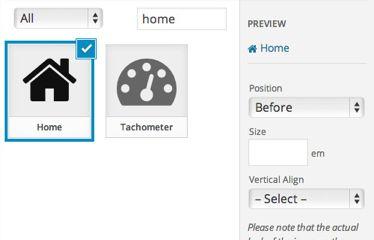 add icon in WordPress menu 51
