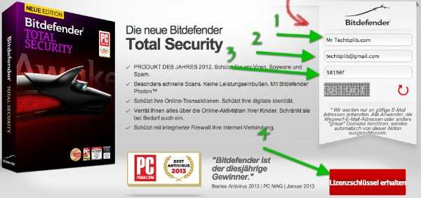 Bitdefender Total Security 2015 6 months