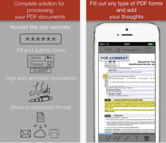 PDF tool for iOS
