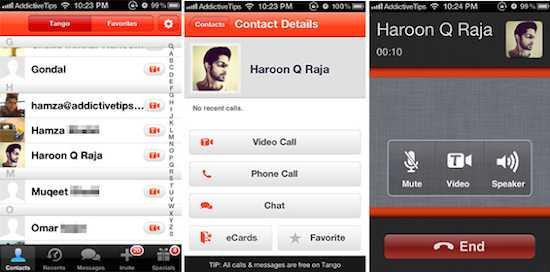 VoIP Apps - Tango