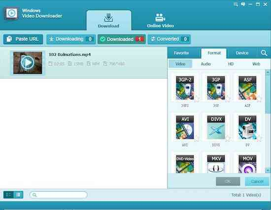 Tenorshare Windows Video Downloader 3