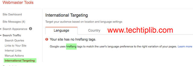 hreflang language