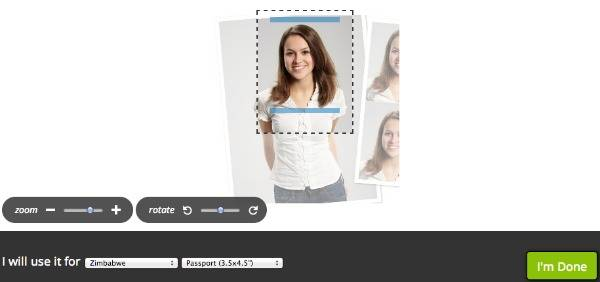 online ID photo maker