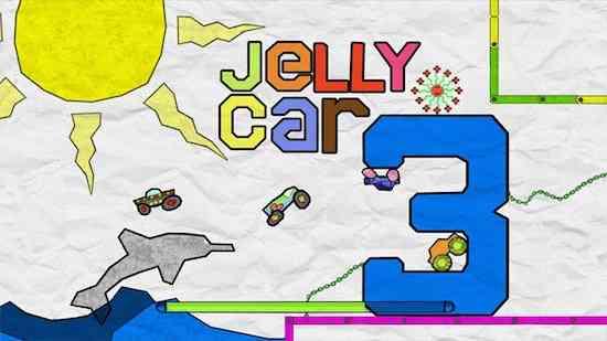 Premium Game For Windows 8 JellyCar 3