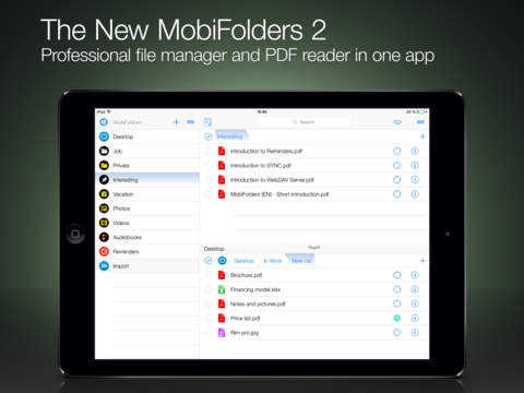 file Manager for iPad
