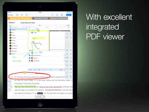 file Manager for iPad-pdf viewer