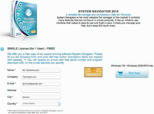 file manager system navigator