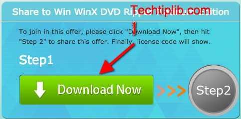 WinX DVD Ripper Platinum Edition step 1