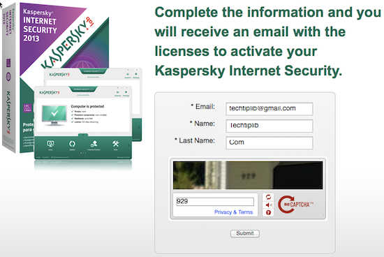 Kaspersky Internet Security 2015 register