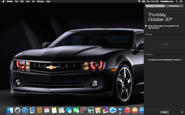 Yosemite OS X