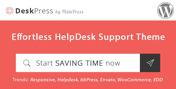 Knowledge Base WordPress Theme - DeskPress