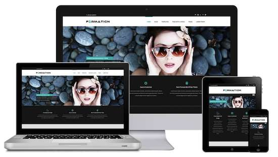 Formation-Free WordPress Themes