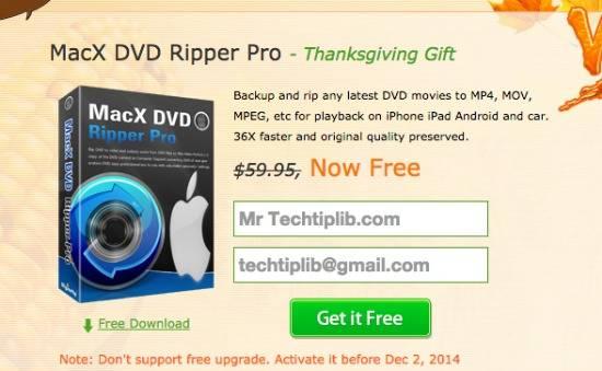 DVD Ripper thanksgiving 2014