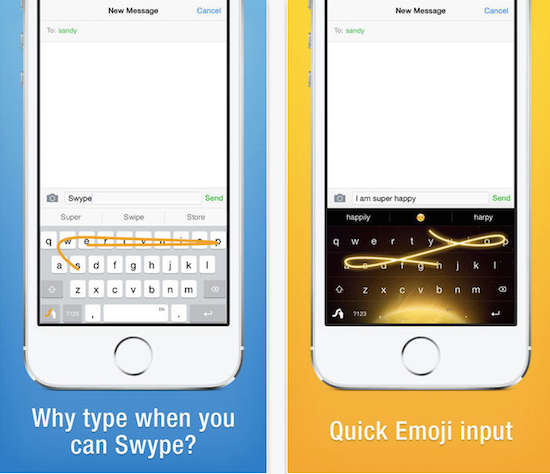 keyboard app for iPhone