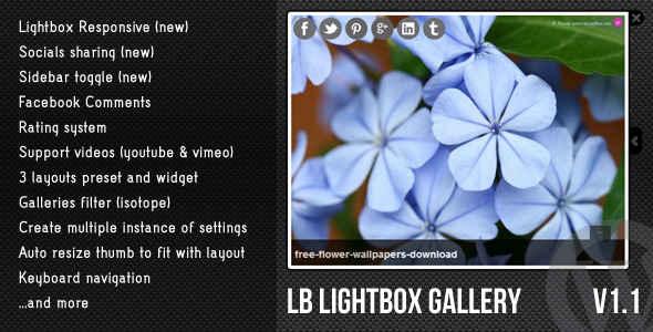 LightBox Plugins - WordPress Lightbox Gallery