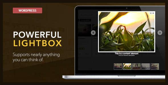 LightBox Plugins - WordPress Powerful Lightbox