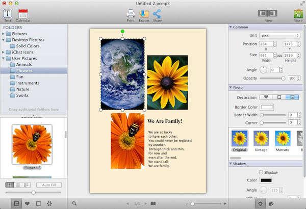 AmoyShare Photo Collage Maker mac