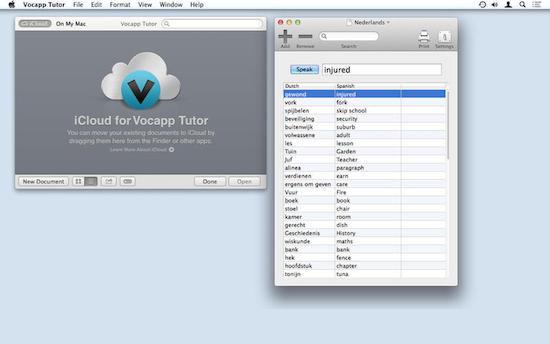 Free Premium apps for Mac vocapp tutor