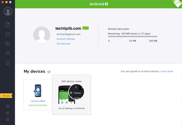 airdroid 3 screenshot_1