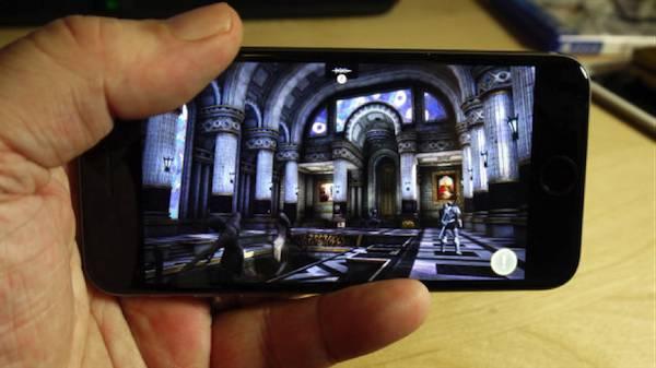 Smartphone game iphone