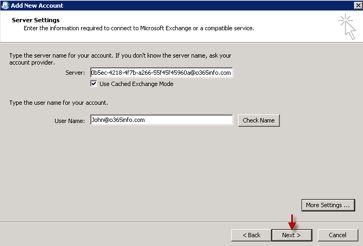office 365 edit exchange server