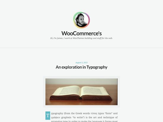 Clear Tranquil-free wordpress theme 2014