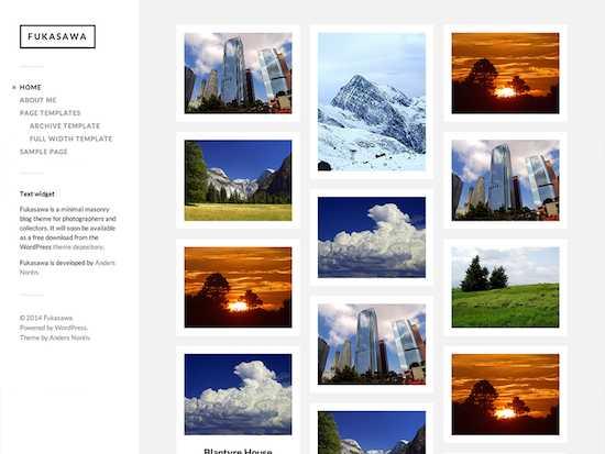 Fukasawa-free wordpress theme 2014