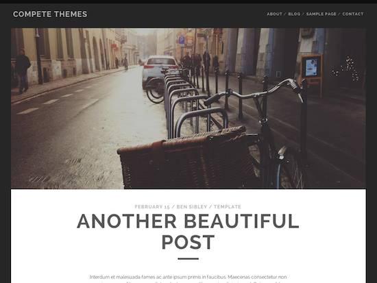 Tracks-free wordpress theme 2014