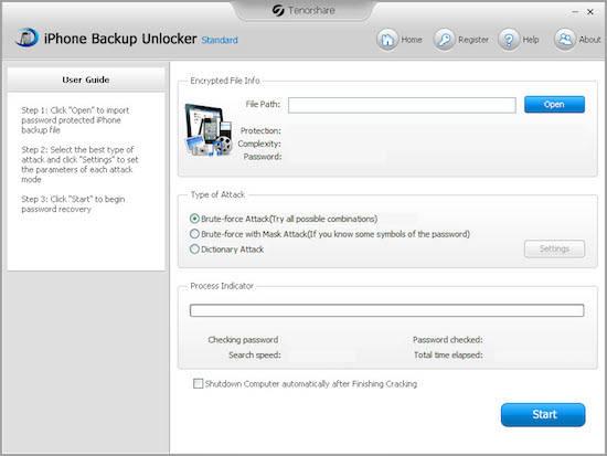 Phone Backup Unlocker