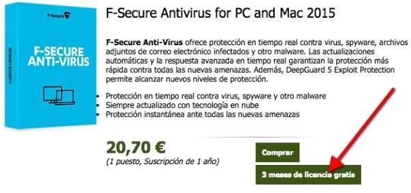 F-Secure Antivirus 1