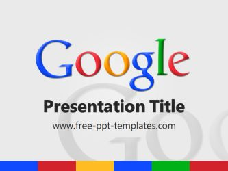 Google PowerPoint Template