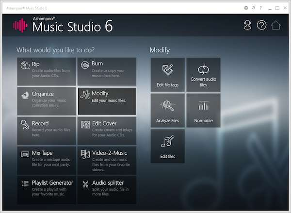Ashampoo Music Studio 6 1