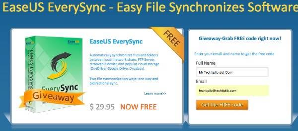 EaseUS EverySync register