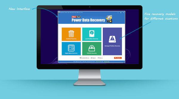 MiniTool Power Data Recovery 7.0 1