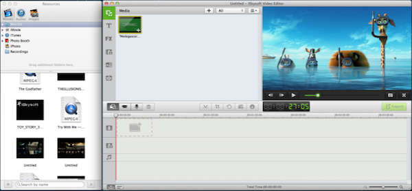 iSkysoft Video Editor screenshot