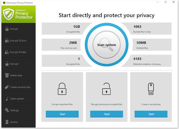 Ashampoo Privacy Protector 1.0.1