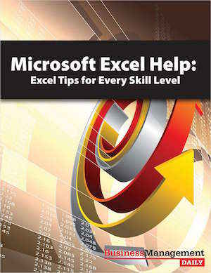 Excel Tips