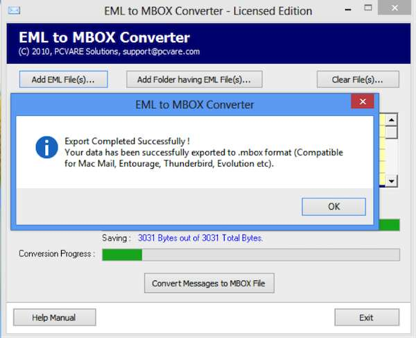 EML to MBOX Converter 9