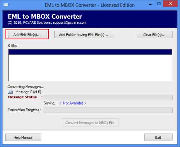 EML to MBOX Converter 2