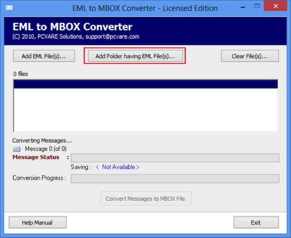 EML to MBOX Converter 5
