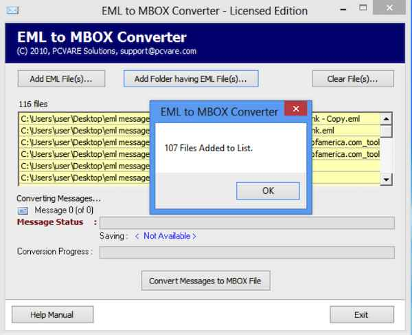 EML to MBOX Converter 7