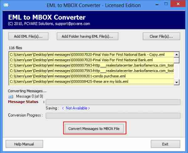 EML to MBOX Converter 8