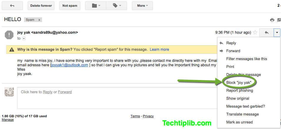 Block Email