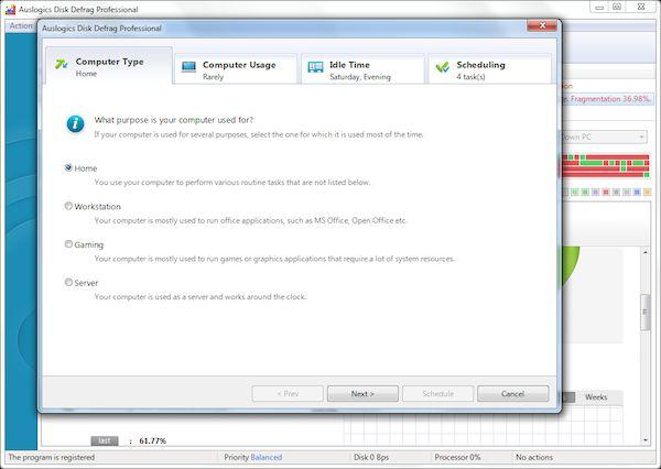 Auslogics Disk Defrag Pro 2015