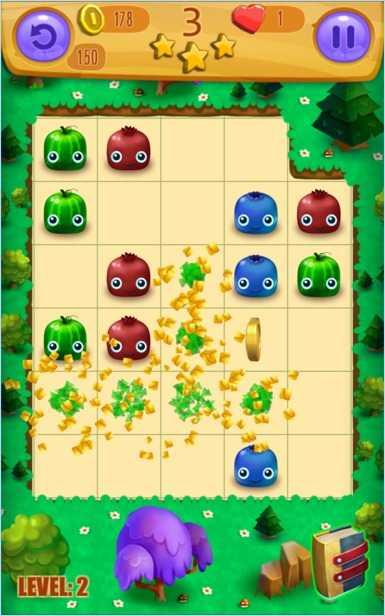 Puzzle Game JuiceBlast