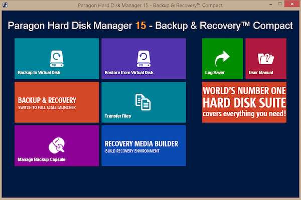 Paragon Backup & Recovery Compact