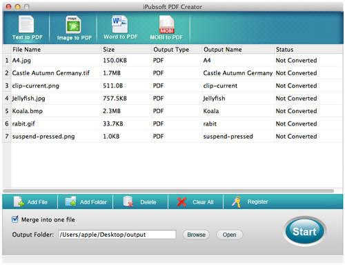 iPubsoft PDF Creator for Mac