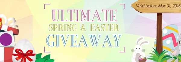 Giveaway for Easter